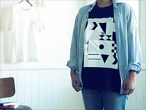 シャツ(反射時)