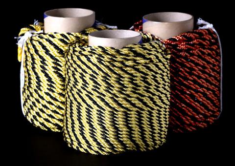 光る安全ロープ