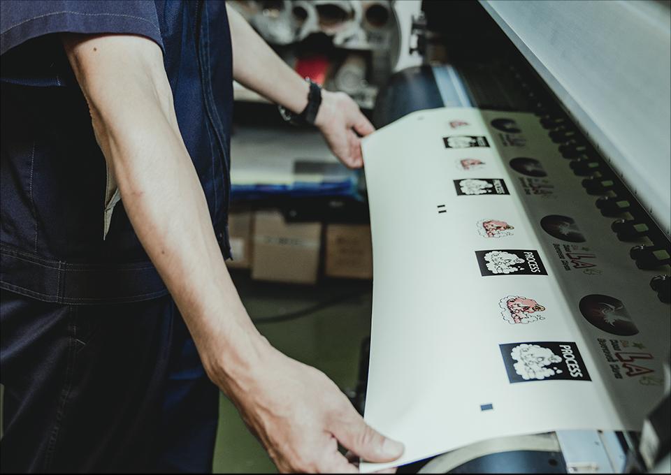印刷・カッティング